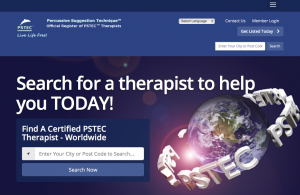 PSTEC register of exam passed therapists home page